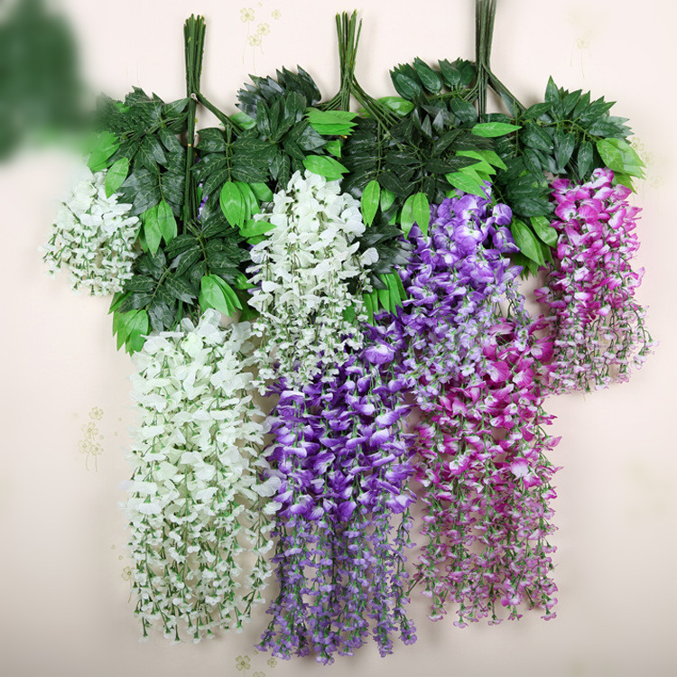 Best Artificial Simulation Wisteria Wedding Decorative Flower This Month