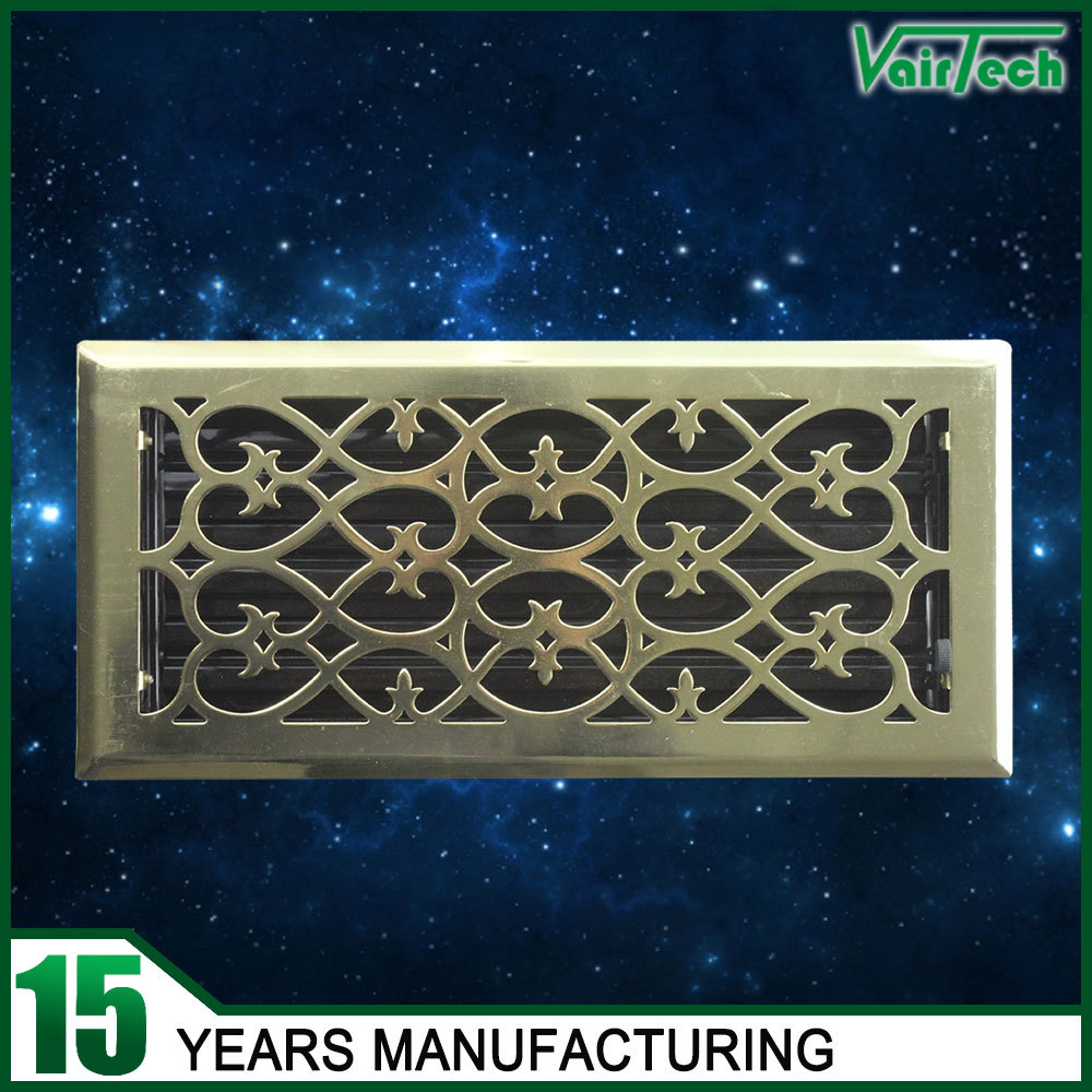 Best Hvac System Decorative Return Air Wrought Iron Wall Grill This Month
