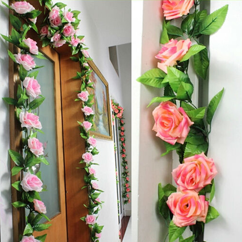 Best Artificial Rose Vines Flowers Garland Weddirect This Month