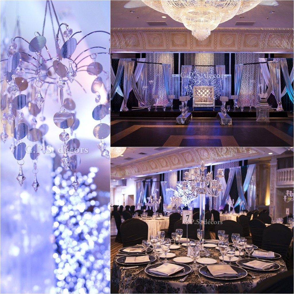 Best Contemporary Reception Decor At Paradise Banquet Hall This Month