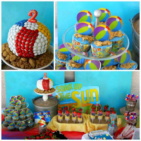 Best Kara S Party Ideas Beach Ball Birthday Party Supplies This Month