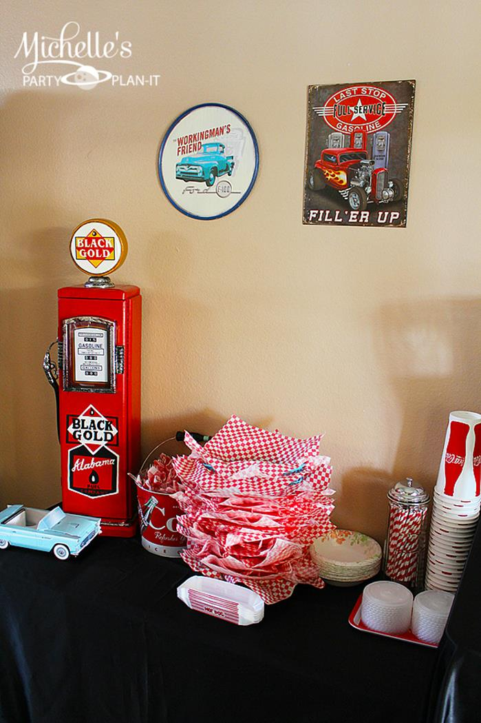 Best Kara S Party Ideas 1950 S Diner Party Via Karaspartyideas This Month