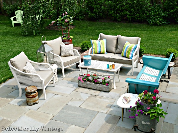 Best My Eclectic Patio Kelly Elko This Month