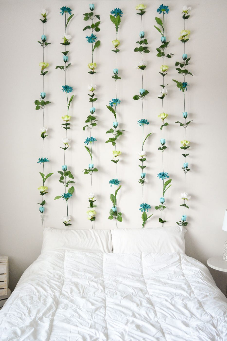 Best Diy Flower Wall Headboard Home Decor Sweet Teal This Month