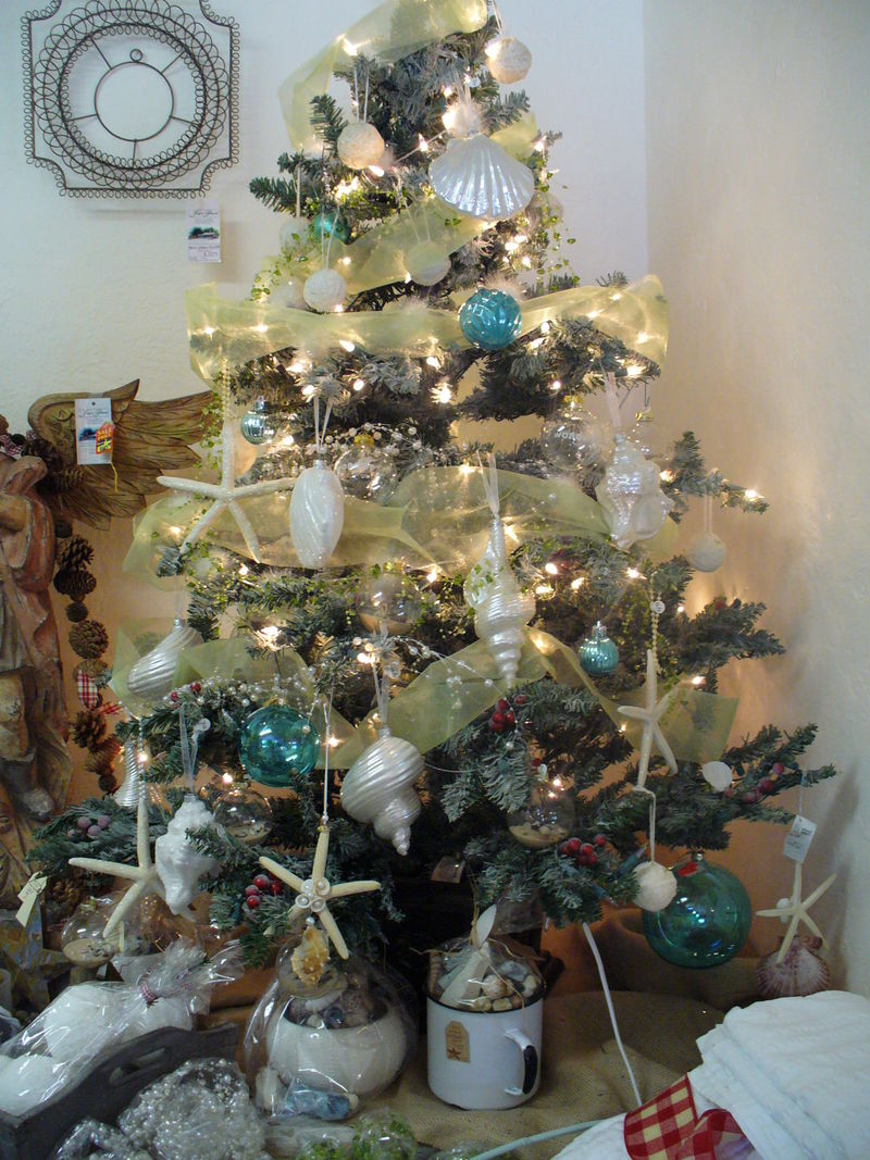 Best Beach Cottage Decor Finds Seaside Christmas Tree This Month