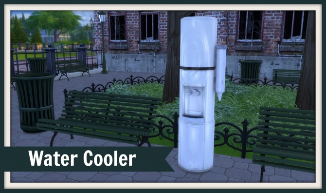 Best Water Cooler At Dinha Gamer » Sims 4 Updates This Month