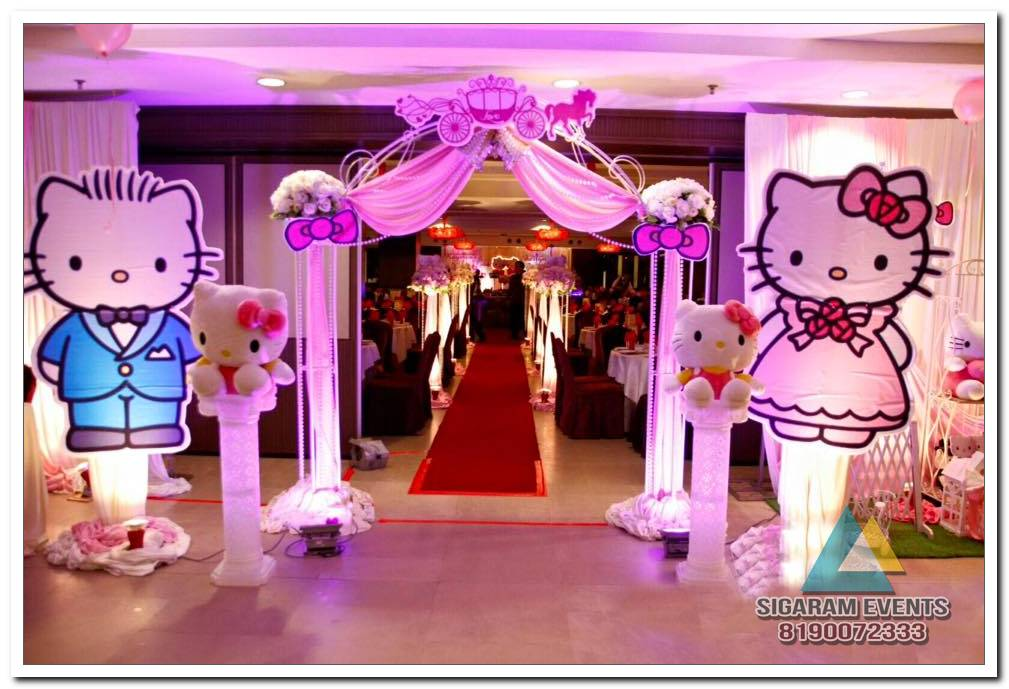 Best Birthday Party Entrance Decorations In Pondicherry This Month