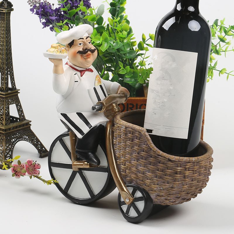 Best Lovely Resin Chief Riding A Bike Design Home Decorative This Month