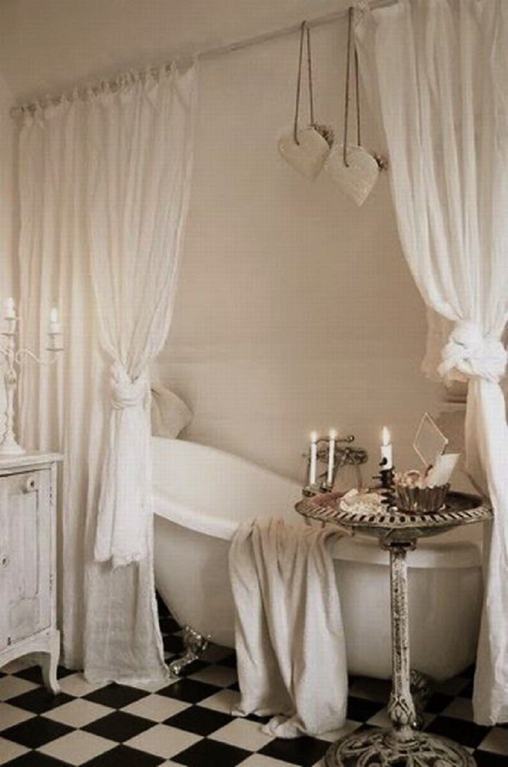 Best Top 10 Ways To Include Curtains In Your Bathroom Decor This Month
