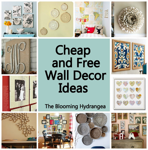Best Cheap Free Wall Decor Ideas Roundup This Month