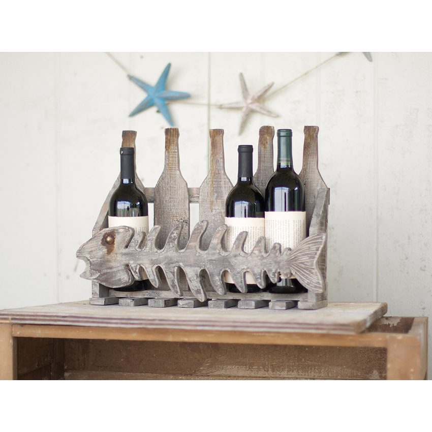 Best Reclaimed Fish Wine Rack This Month