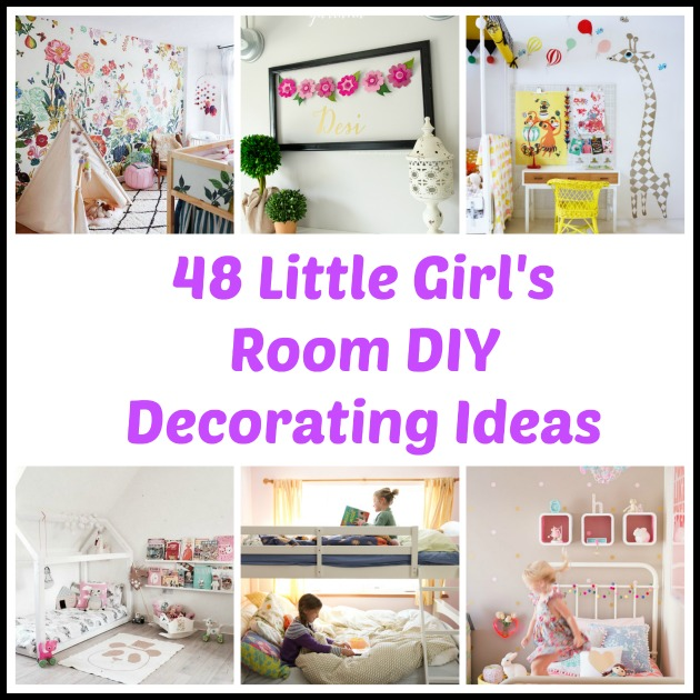 Best 48 Diy Decorating Ideas For A Little Girl S Room This Month