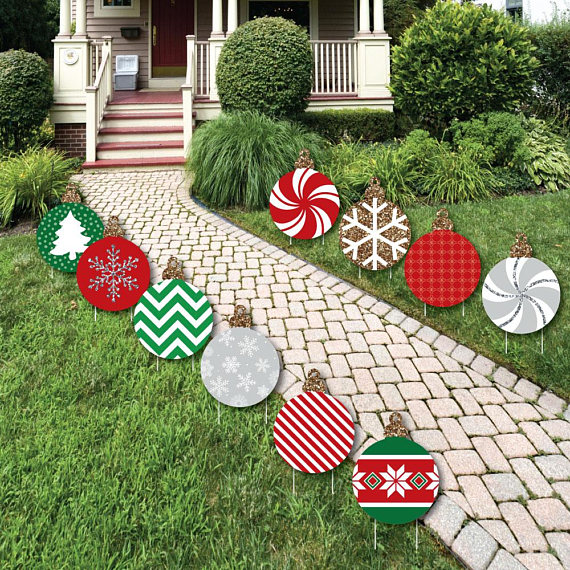 Best 40 Festive Diy Outdoor Christmas Decorations This Month