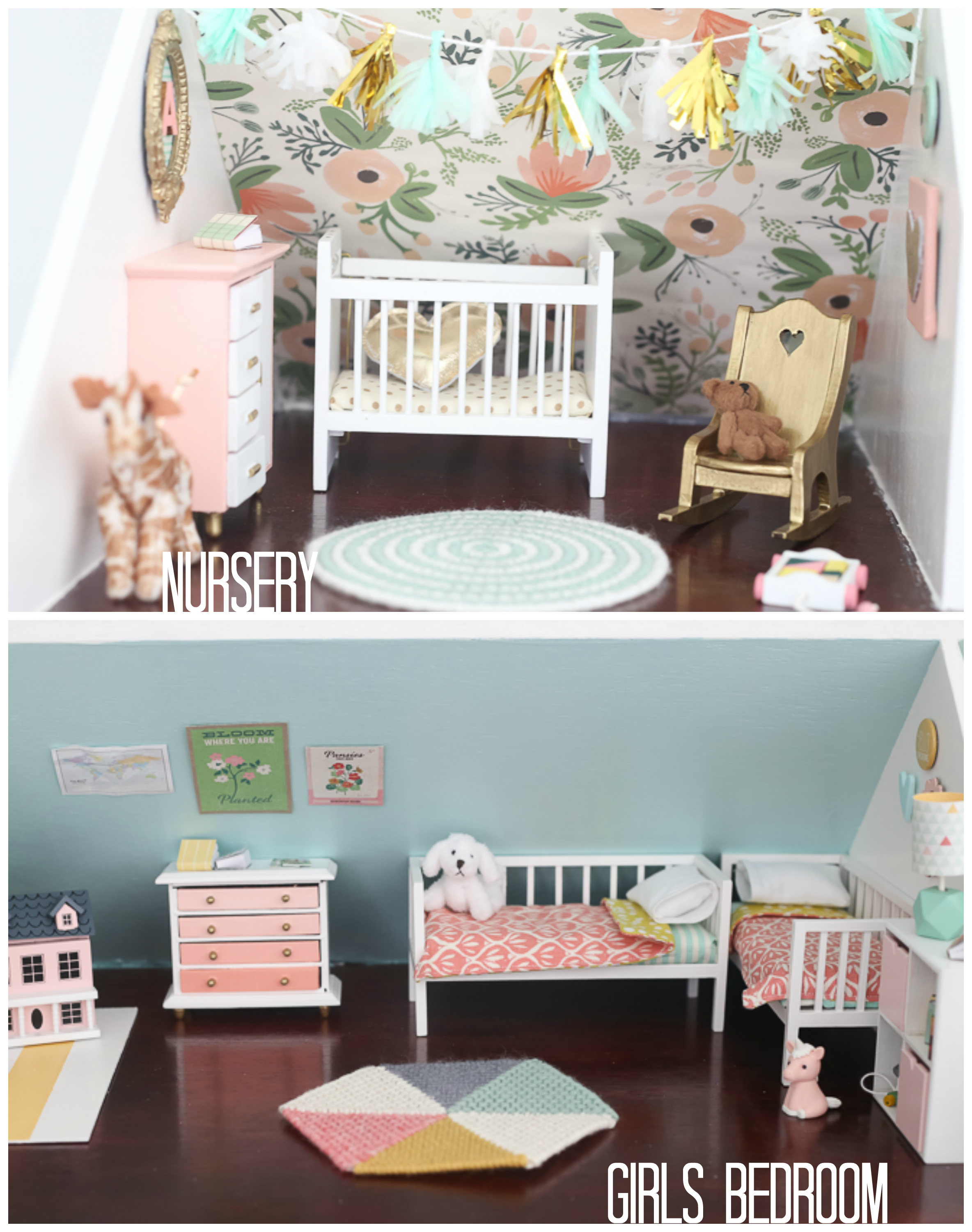 Best Diy Dollhouse The Girls Bedroom And Nursery This Month