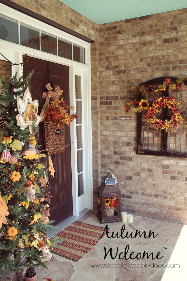 Best Autumn Welcome On The Porch Debbiedoos This Month