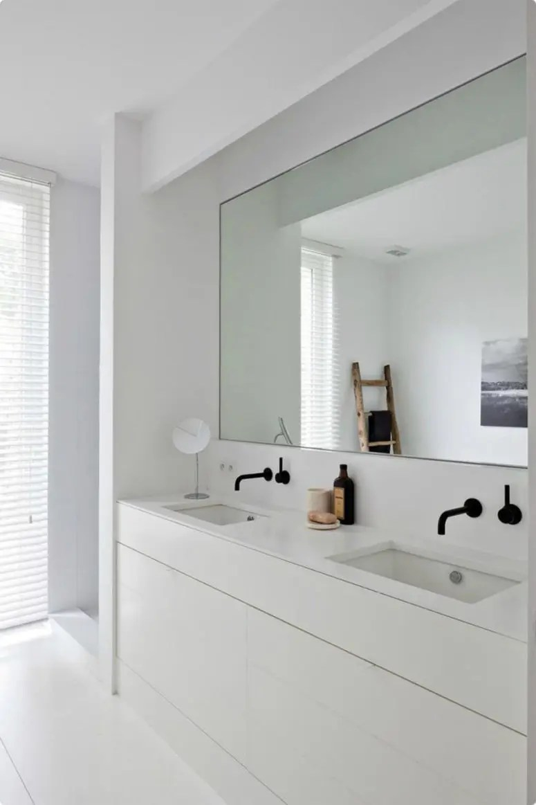 Best 30 Cool Ideas To Use Big Mirrors In Your Bathroom Digsdigs This Month