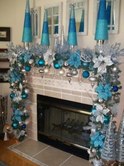 Best 35 Silver And Blue Décor Ideas For Christmas And New Year This Month