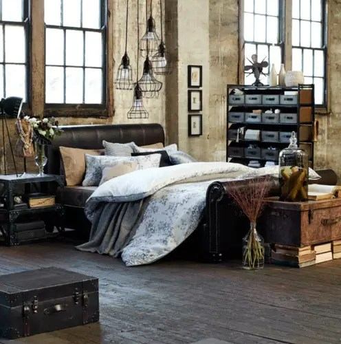 Best 33 Industrial Bedroom Designs That Inspire Digsdigs This Month