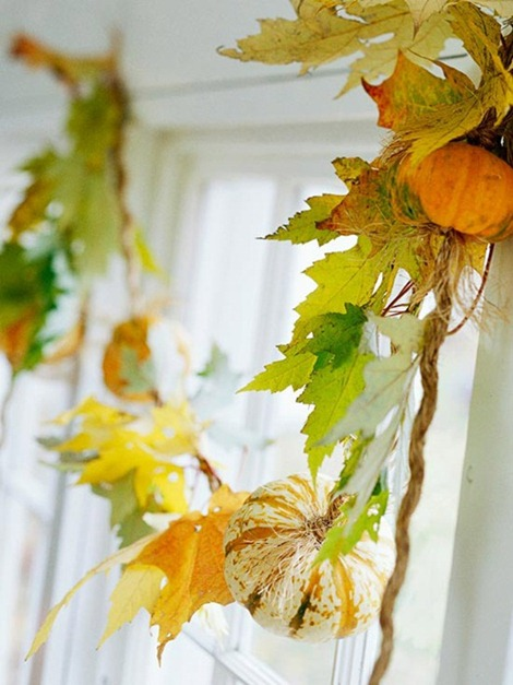 Best 15 Fall Garland Ideas Diy Decor This Month