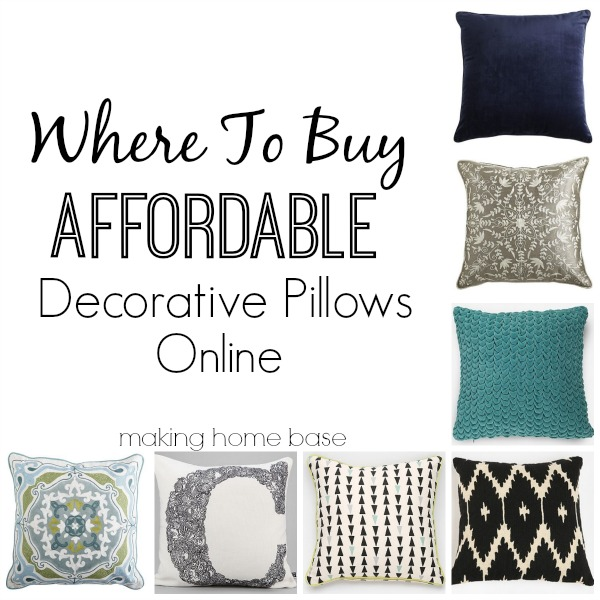 Best Where To Buy Affordable Decorative Pillows Making Home Base This Month