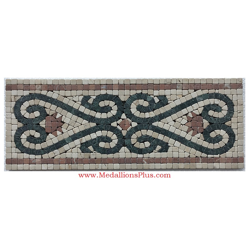 Best Reese Honed Mosaic Tile Listello 6 25 X15 75 This Month