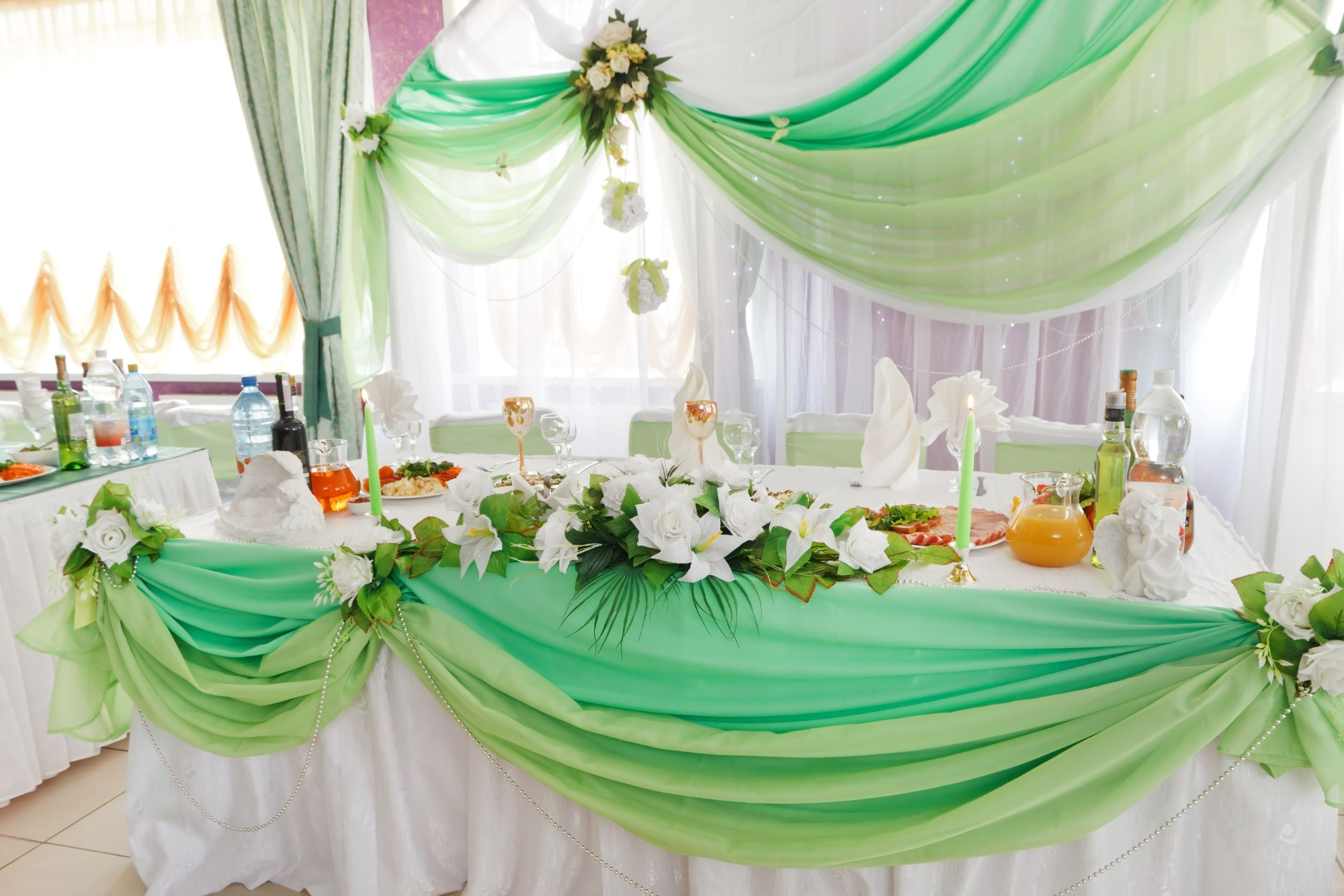 Best Using Organza Fabric In Wedding Decorations My Shopping City This Month