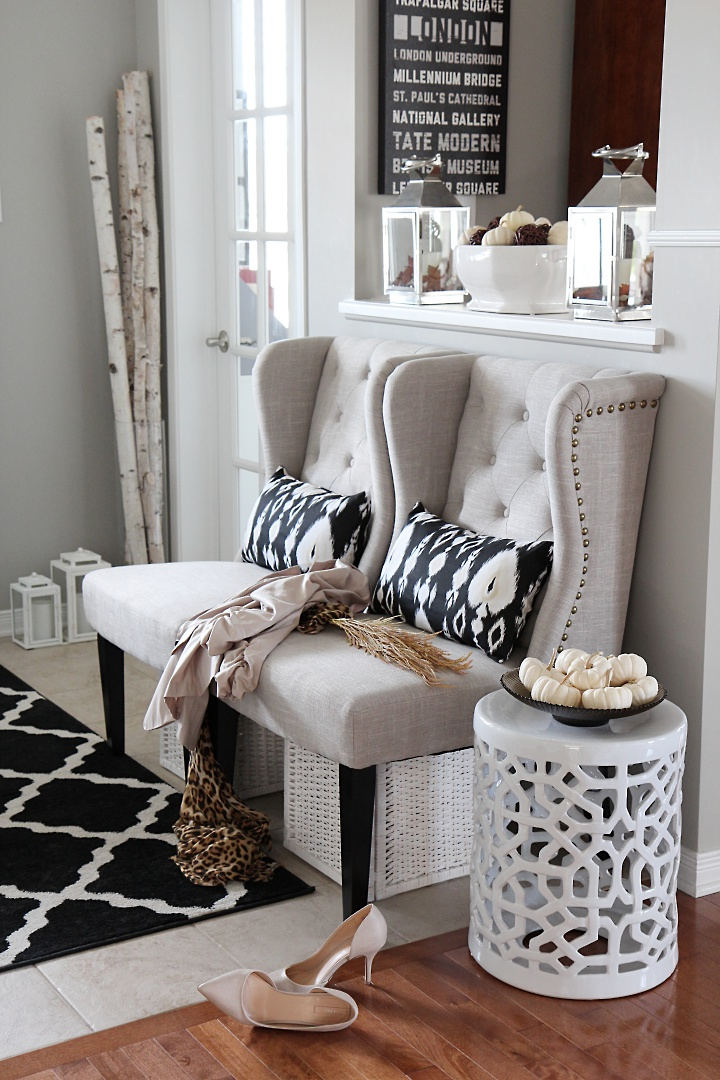 Best Neutral Glam Fall Tour And Fall Decor Ideas Setting For Four This Month
