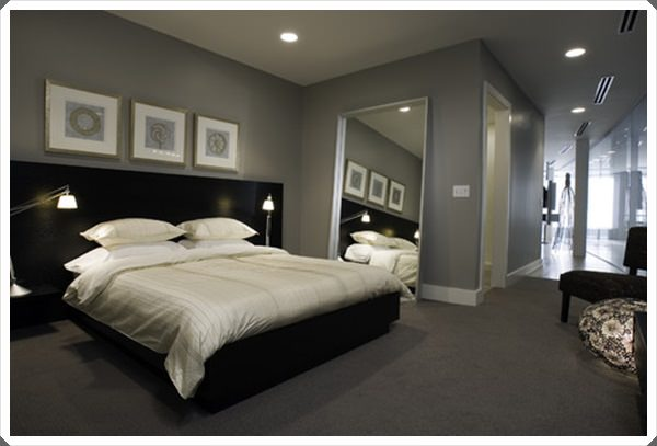 Best 40 Grey Bedroom Ideas Basic Not Boring This Month