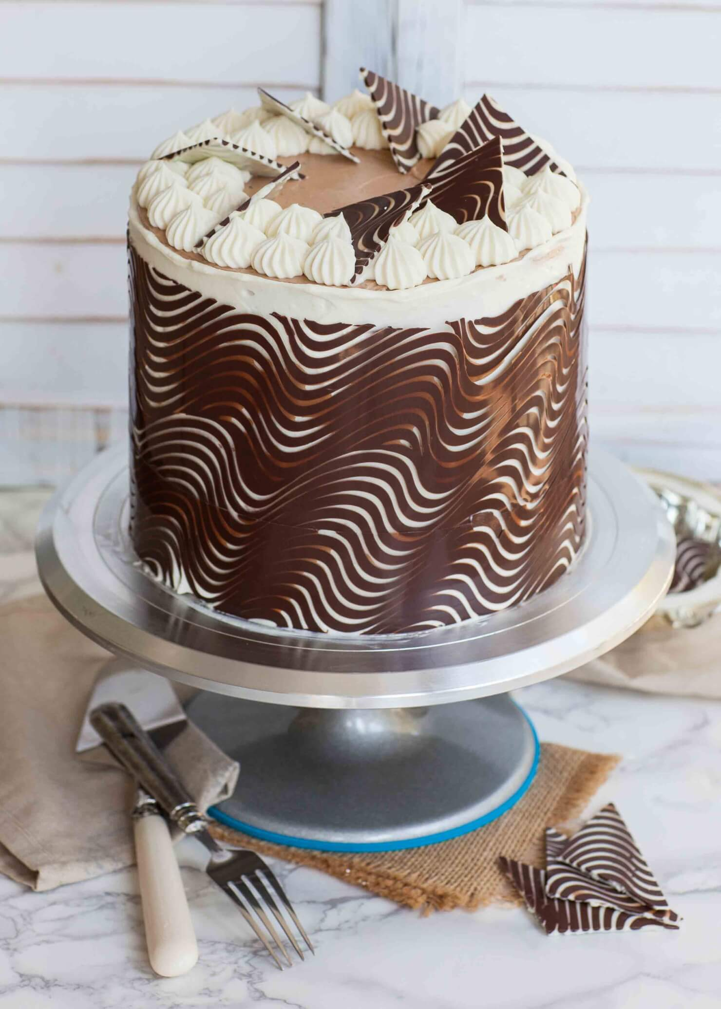 Best Chocolate Cake Wrap Decorations Tatyanas Everyday Food This Month