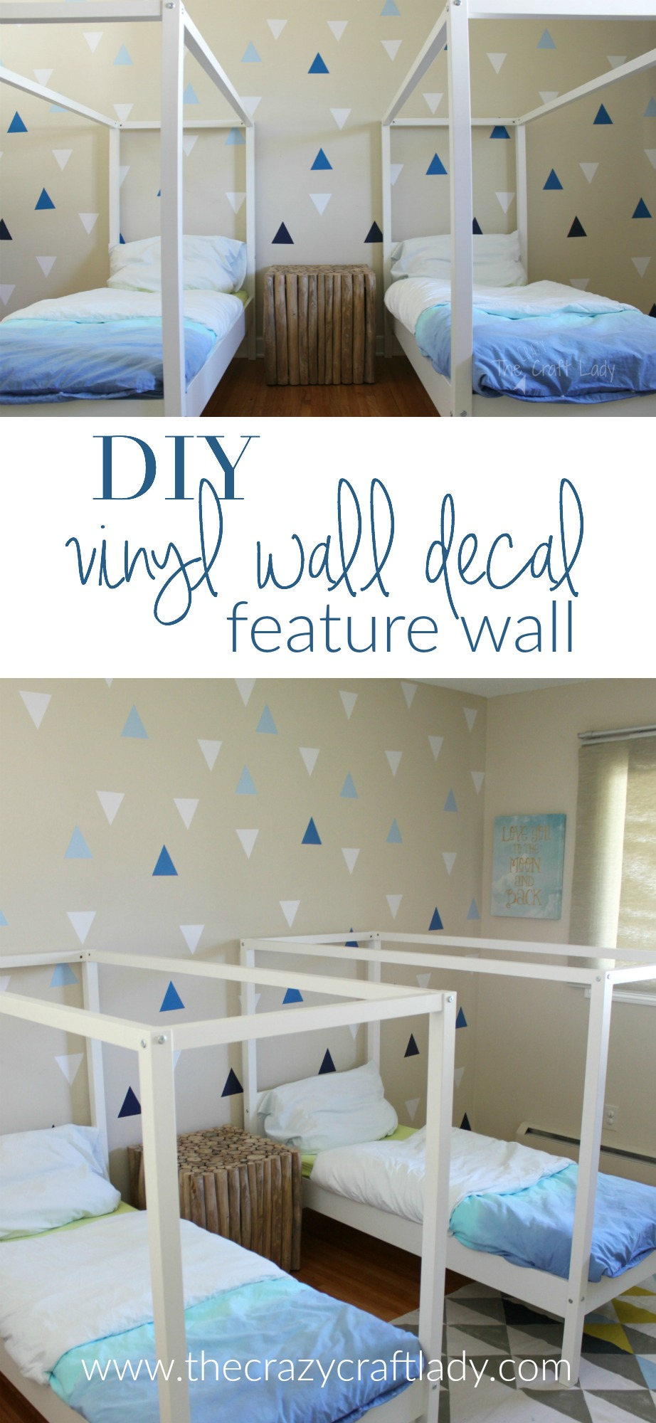 Best Diy Wall Decals Rental Friendly Decor A Feature Wall This Month