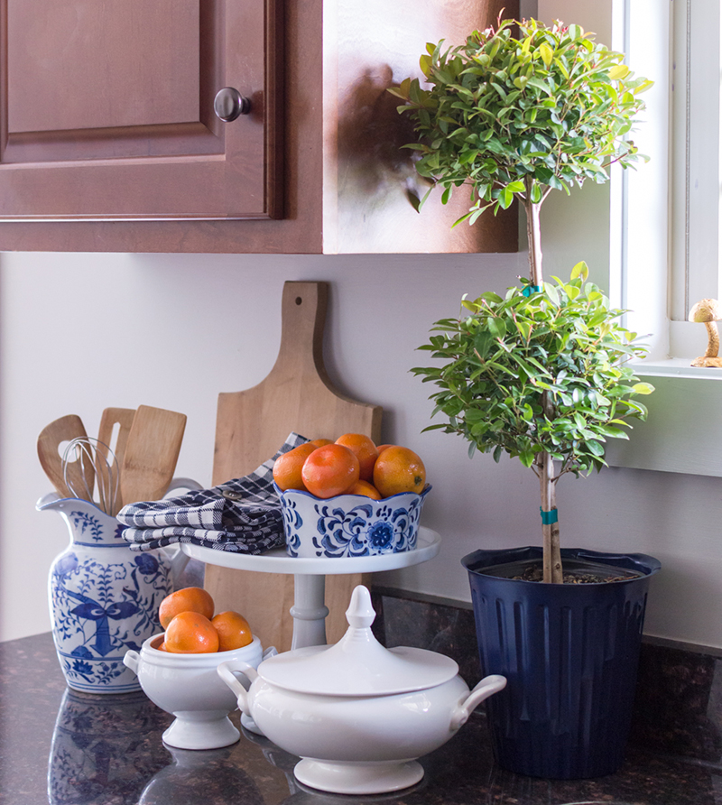 Best Decorating With Blue And White Porcelain The Home I Create This Month