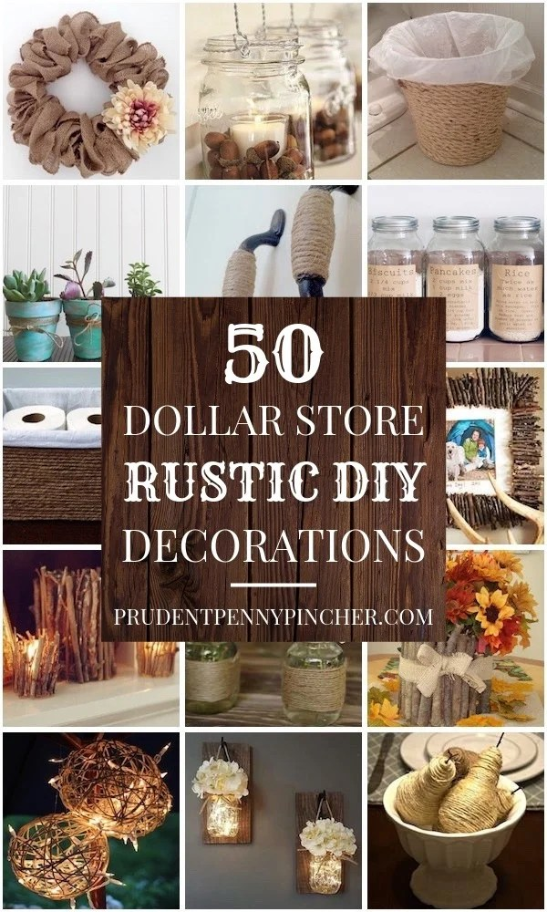 Best 100 Dollar Store Diy Home Decor Ideas Prudent Penny Pincher This Month