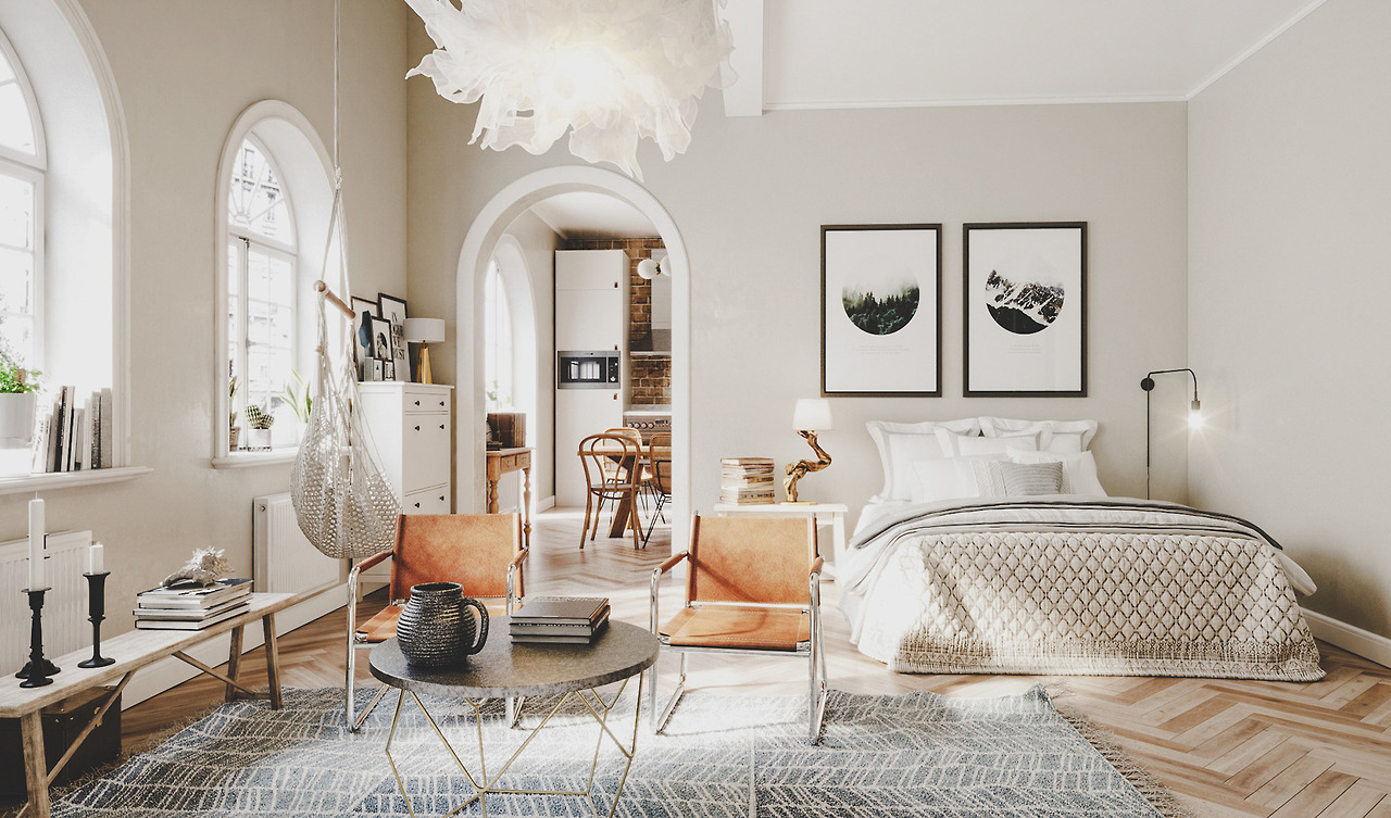 Best 15 Stylish Ways To Decorate A Studio Apartment Apartment This Month