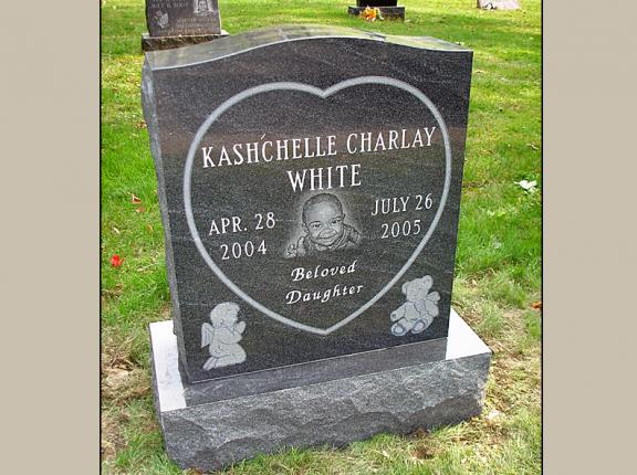 Best Upright Etched Baby Portrait Headstone Pictures This Month