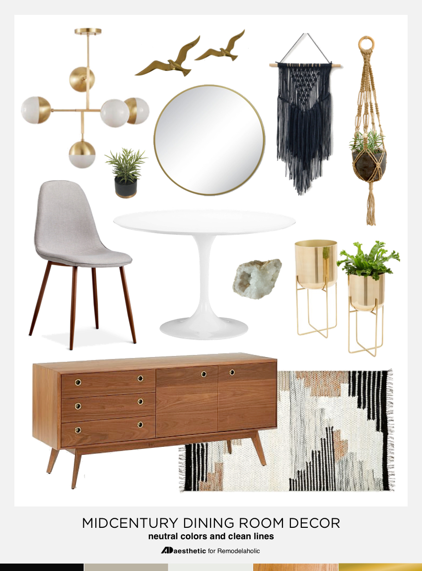 Best Remodelaholic Dining In Style Neutral Mid Century This Month