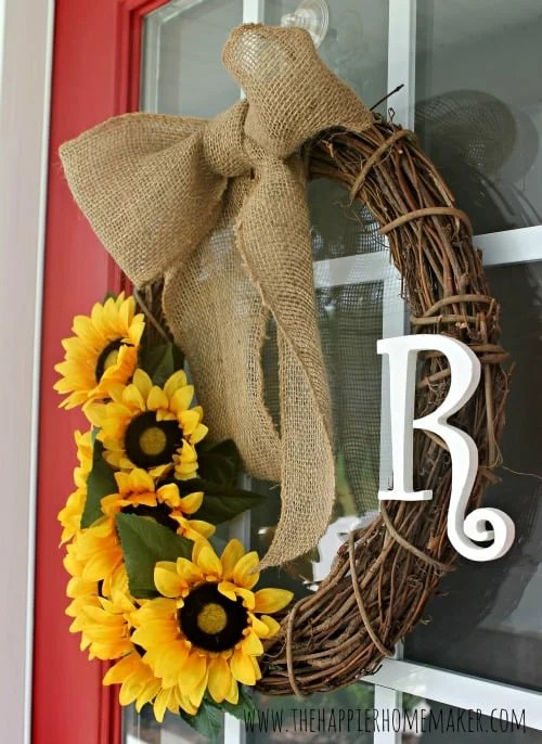 Best Diy Summer Wreath And Huge Announcement The Happier This Month