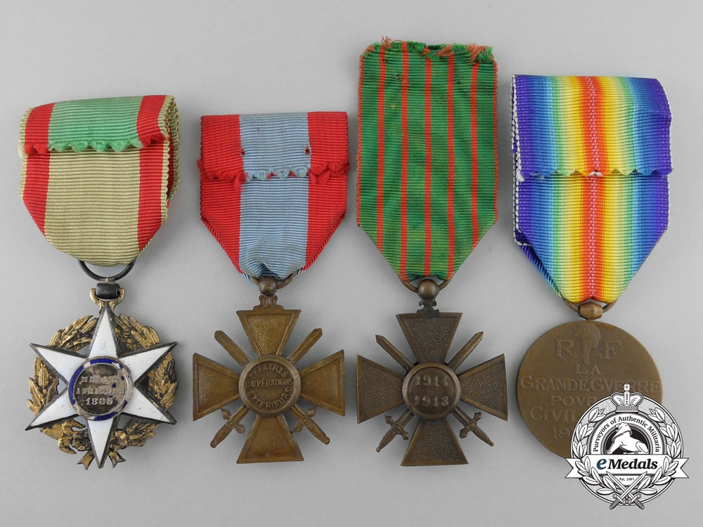 Best Three French Medals Awards Decorations France Europe This Month