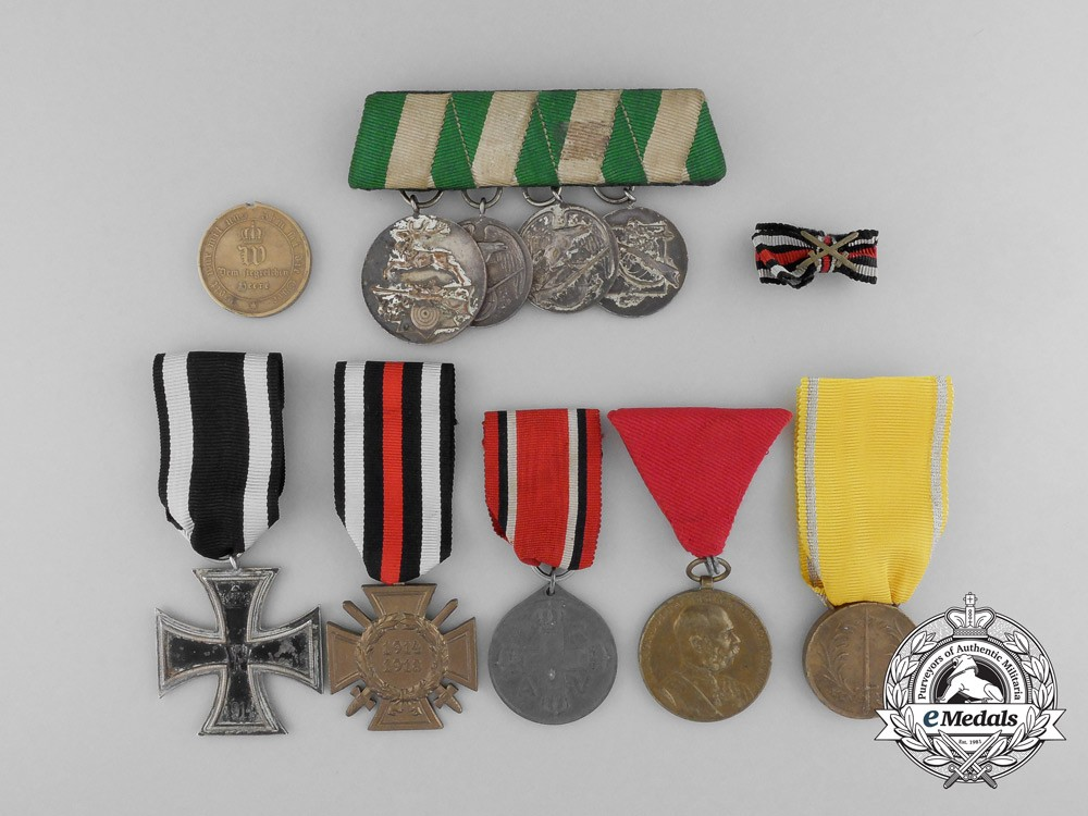 Best A Lot Of Ten Austrian And German Imperial Medals Awards This Month