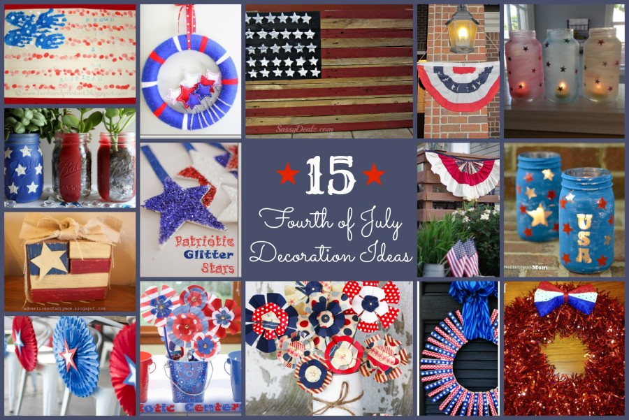 Best 4Th Of July Decoration Ideas Family Fun Journal This Month