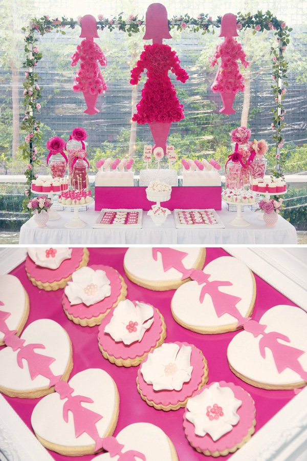 Best Br**St Cancer Awareness Dessert Table Gorgeous This Month
