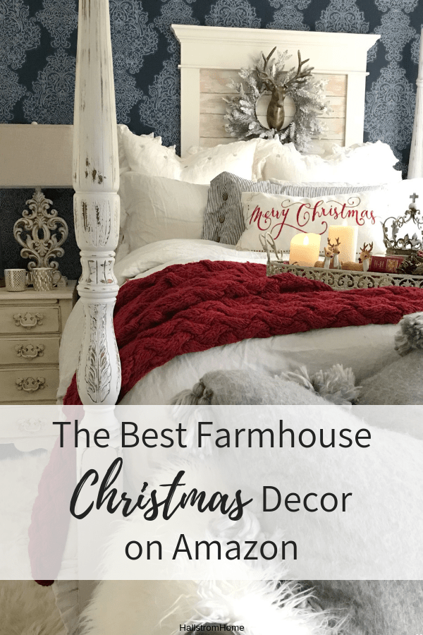 Best The Best Christmas Farmhouse Decor On Amazon – Hallstrom Home This Month
