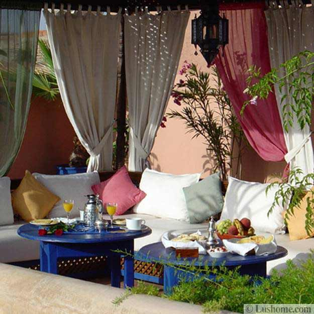 Best 20 Moroccan Decor Ideas For Exotic And Glamorous Outdoor Rooms This Month