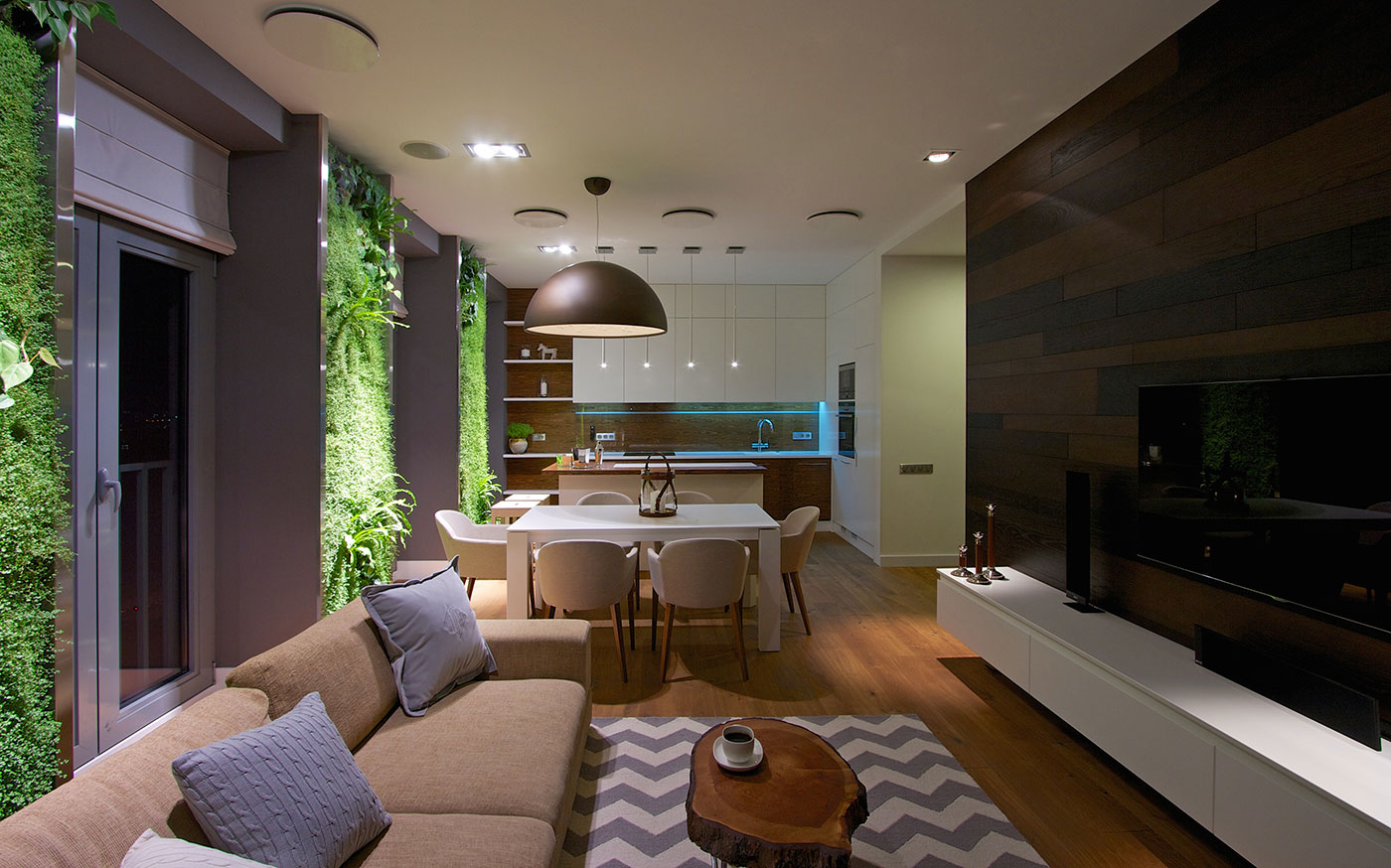 Best Modern Apartment Design Green Walls By Svoya This Month