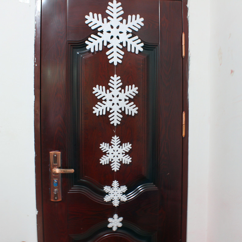 Best New Big Size Glitter Snowflake Christma Decorations Snow This Month