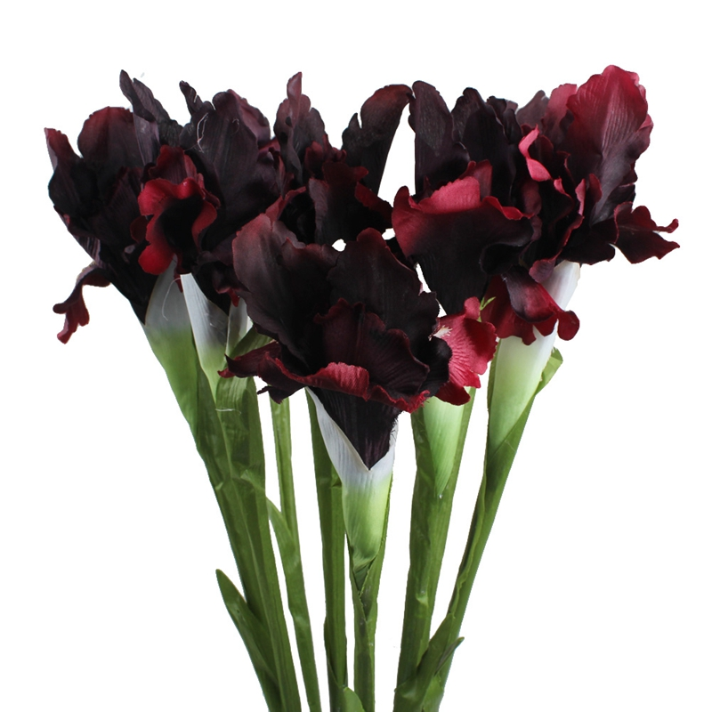 Best Aytai 1Pc Artificial Fake Flowers Iris Cheap 6 Colors 68Cm This Month