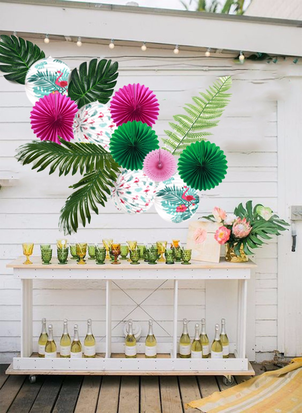Best Aliexpress Com Buy Leaf For Hawaiian Luau Theme Party This Month