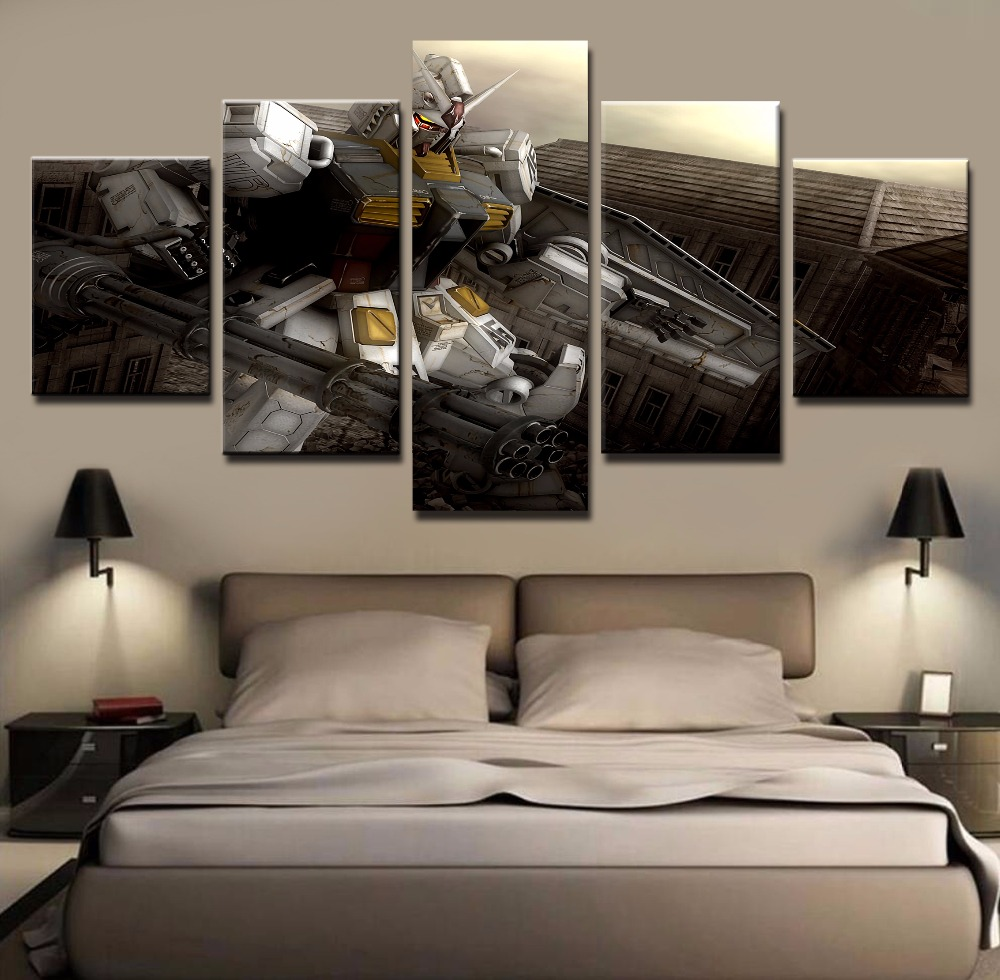Best Wall Art Painting Pictures Canvas Printed Anime Modular This Month