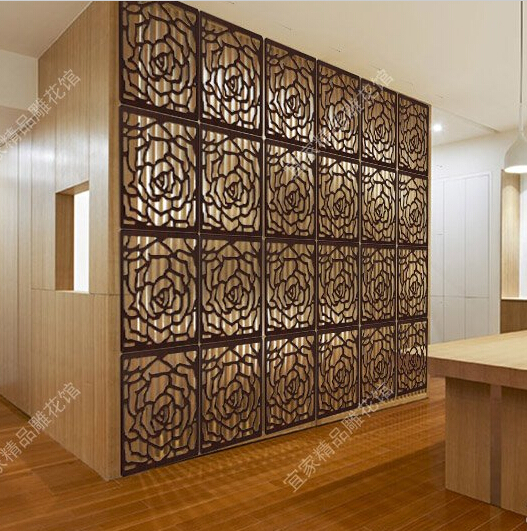 Best Chinese Hanging Floding Screen Divider Wood Carved This Month