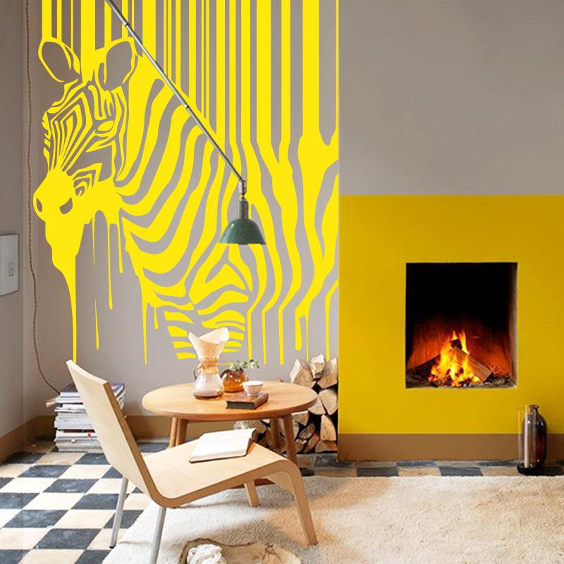 Best Art Design Hot Selling Home Decoration Painting Zebra Wall This Month