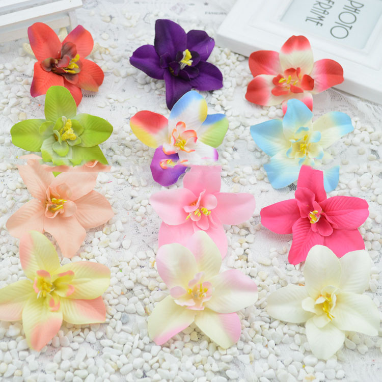 Best Artificial Flowers New Hot Simulation Silk Flower Orchid This Month